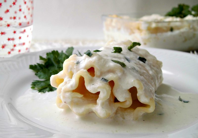 rotolini di lasagna riccia