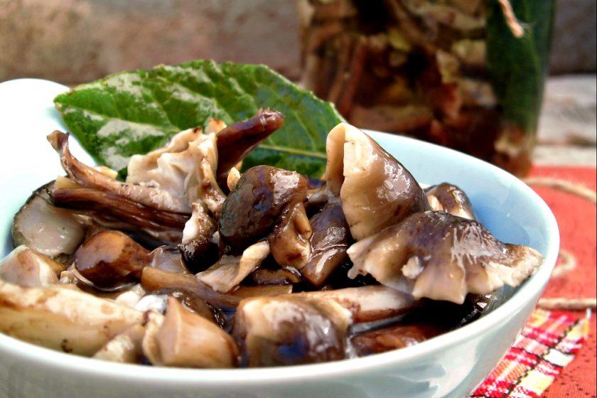 funghi prataioli sottolio