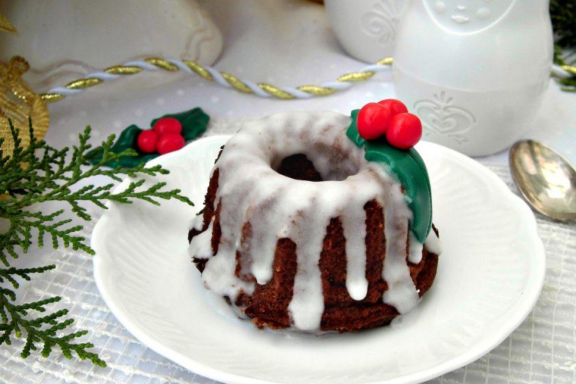 mini bundt cake di natale