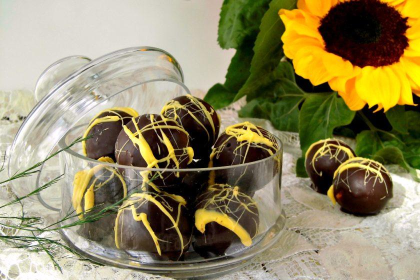 Cake balls al limone