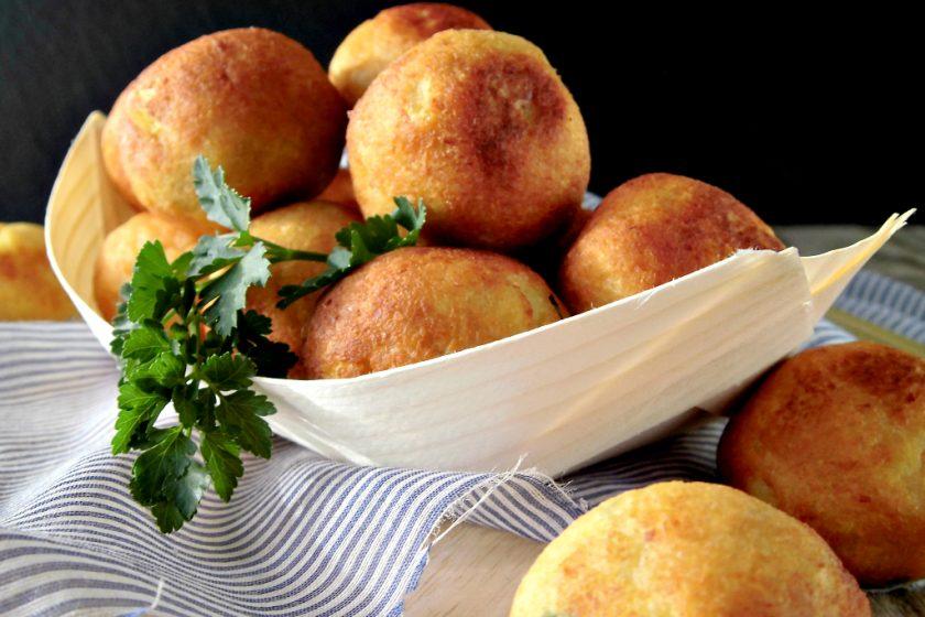 Polpette di soia e patate