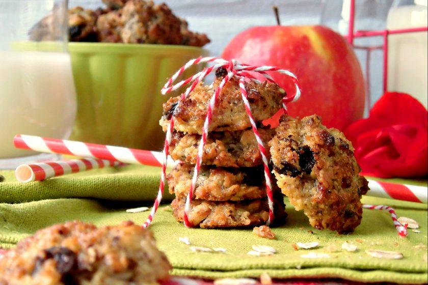 Biscotti con okara di avena