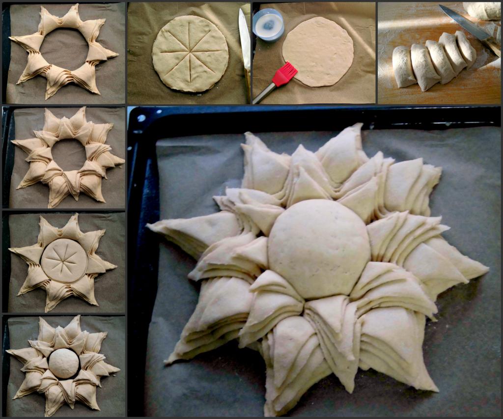 come fare un centrotavola di pane