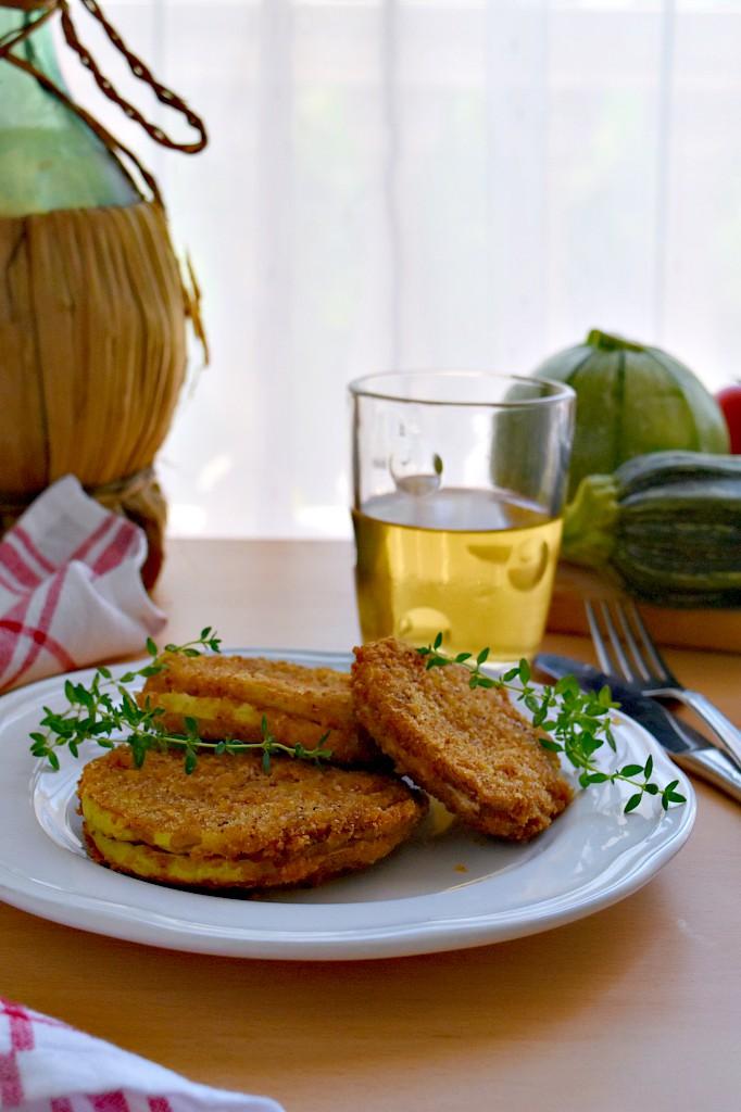 Cordon bleu di zucchine