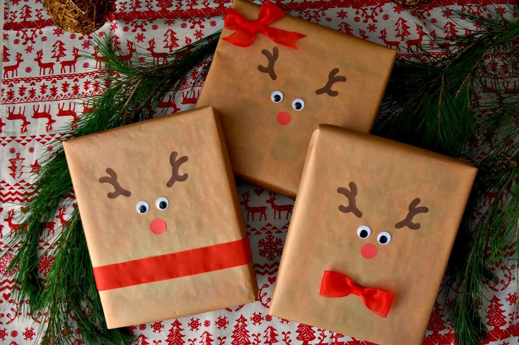 Regali di Natale a forma di renna