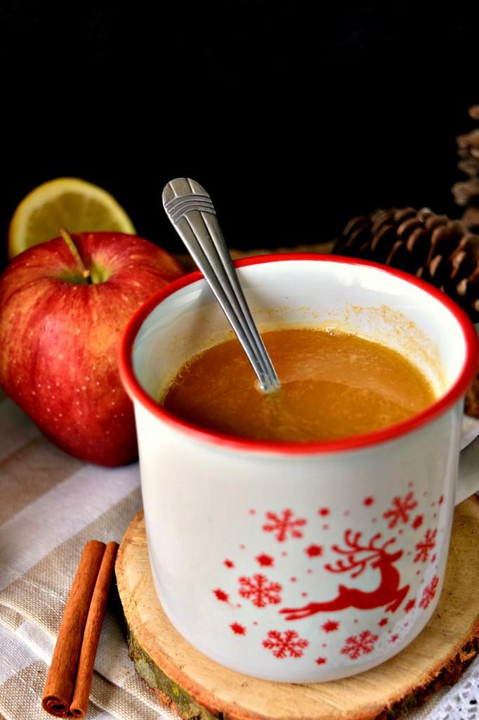 Estratto di zucca mele e cannella