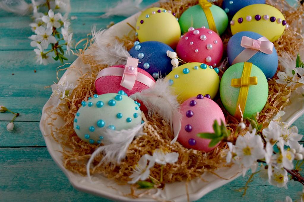 Colorare le uova di Pasqua