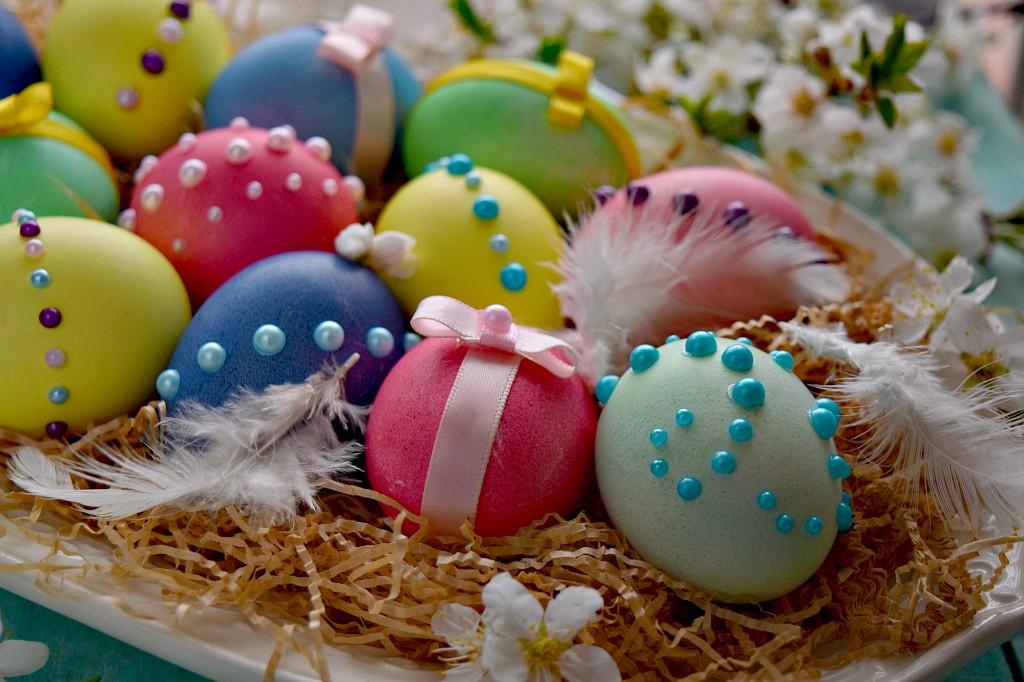 Uova di Pasqua chic