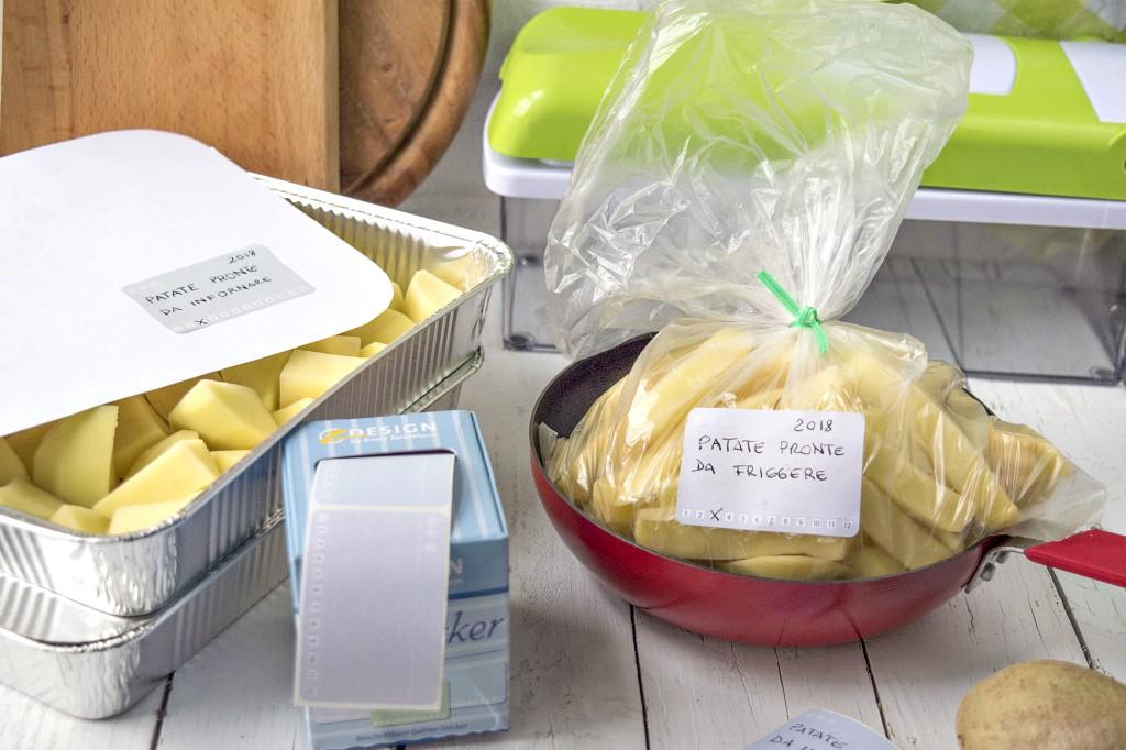 Come congelare le patate