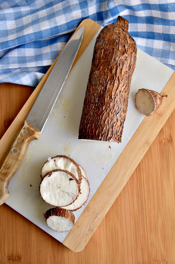 Manioca in padella
