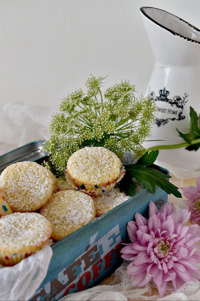 Mini cupcake alla vaniglia