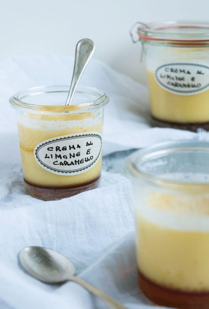 Crema al limone e caramello