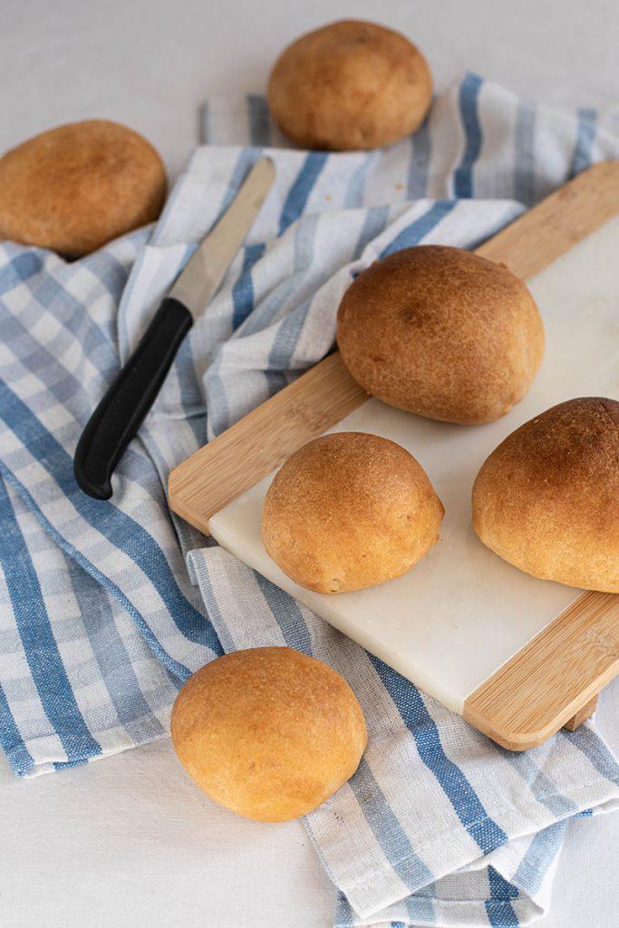 panini soffici con farina di solina
